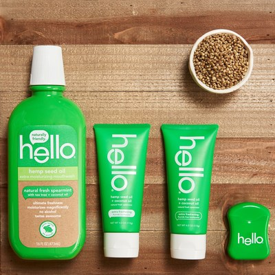 Hello Products Hemp Seed Oil Collection