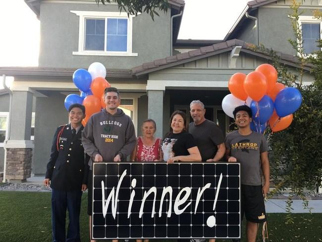 Extreme Solar Makeover Winner