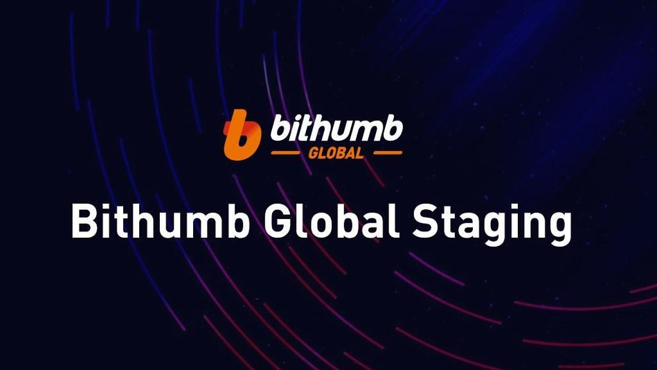 Iniciativa Staging Bithumb Global