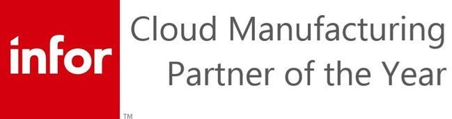 2019 Cloud Manufacturing Partner of the Year is awarded for having the highest volume of cloud technology deals of the Infor channel organization.