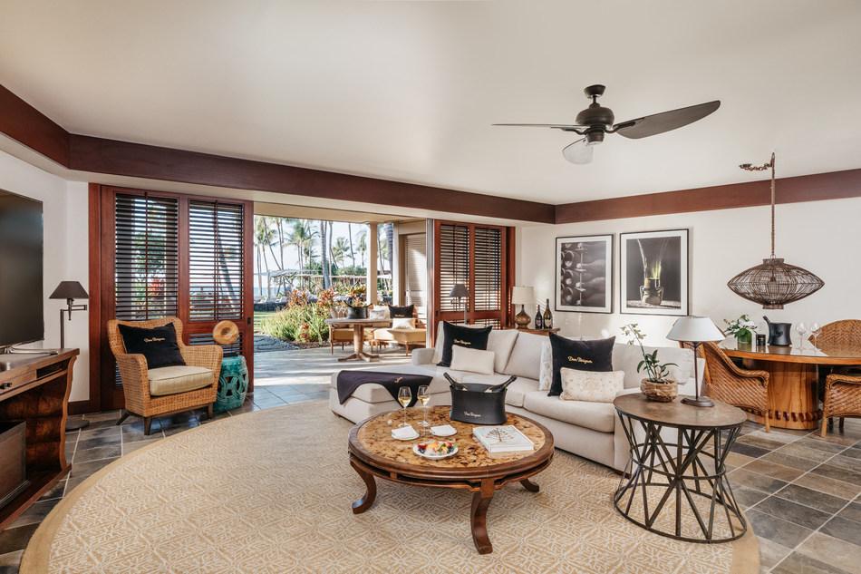 Wai'olu Suite by Dom Perignon at Four Seasons Resort Hualalai