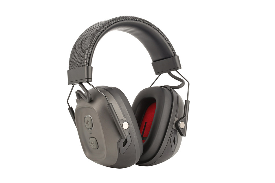Honeywell's VeriShield Smart Hearing Solution combines cloud-based software and connected, protective headsets to monitor sound in real time and analyze patterns to help companies better protect workers.