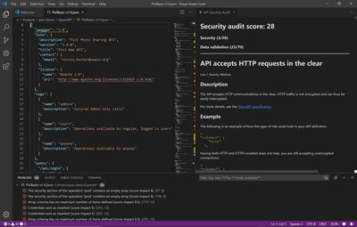 42Crunch VS Code Security Audit for OpenAPI Editor