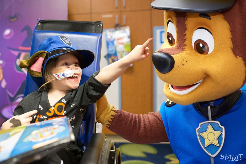 Spirit Halloween has donated $55 million to hospital Child Life departments through the Spirit of Children program.