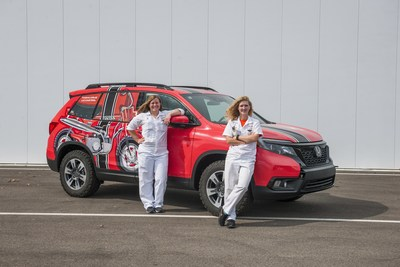 Honda R&D Americas engineers, Liz Casteel and Tasha Krug, are ready for an adventure of a lifetime in all-women 2019 Rebelle Rally off-road navigation event. They will compete in a 2019 Honda Passport.