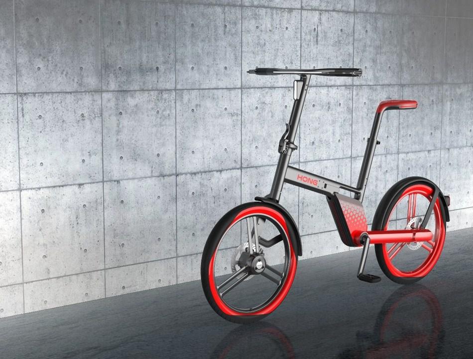 """""""Stone"""" launched by Hongji Bike at Eurobike"""