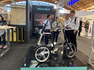 """Stone"" launched by Hongji Bike at Eurobike"