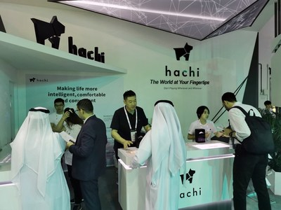 Puppy Robot's Hachi Enters the Middle East Market with Debut at GITEX Technology Week 2019
