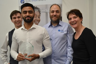 Really simple Systems CRM Wins at Cloud Excellence Awards 2019