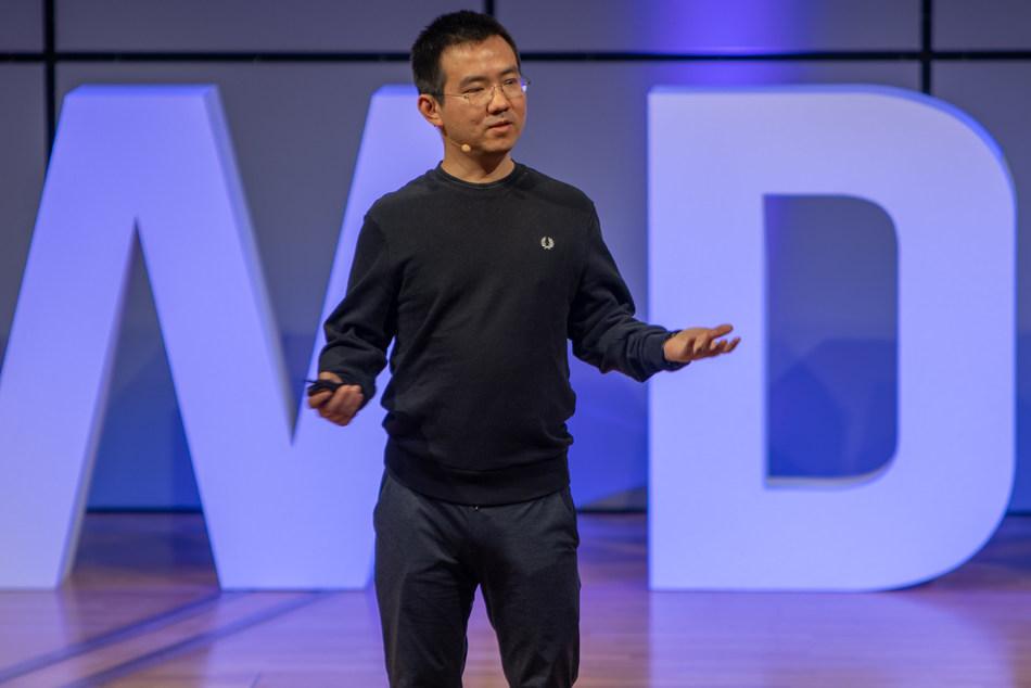 Mr. Jihan Wu at WDMS 2019
