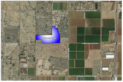 Mattamy Homes, North America's largest privately-owned homebuilder, has secured a significant property in the west valley of Maricopa County, AZ that will eventually include 333 new homes and be known as Azure Canyon. (CNW Group/Mattamy Homes Limited)