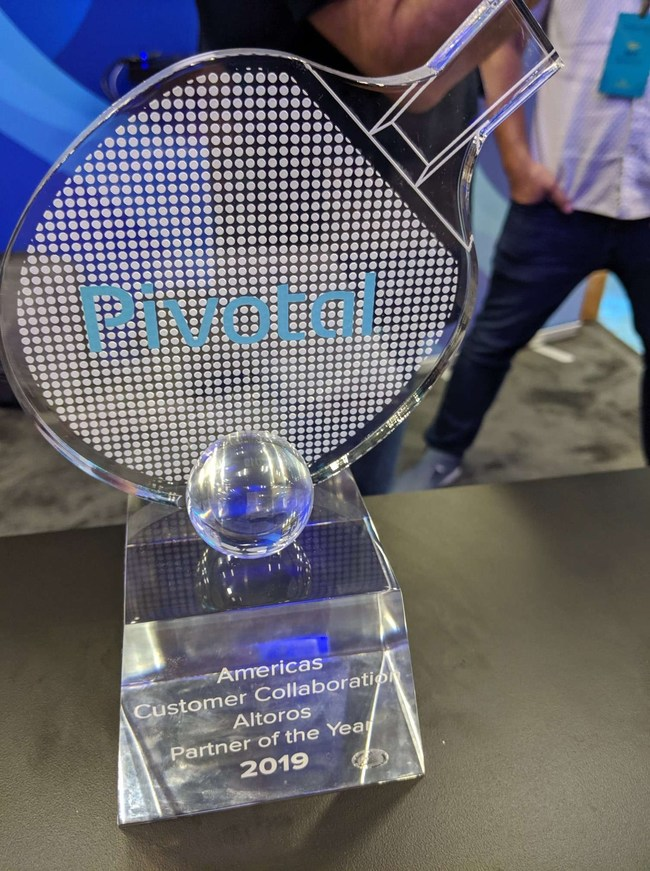 The Systems Integrator Award for Customer Collaboration for the Americas region 2019