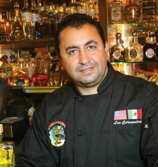 Chef Leo Cervantes, owner, Chilangos