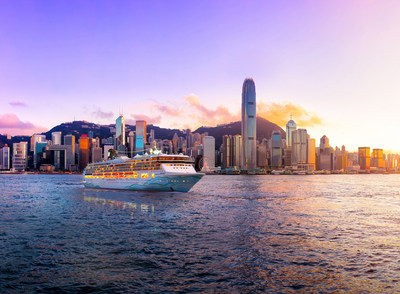 Norwegian Spirit in Hong Kong