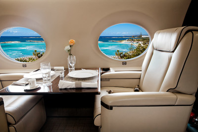 Travel to Cabrits Resort & Spa Kempinski Dominica in style aboard a 10-seat Beechcraft King Air 200