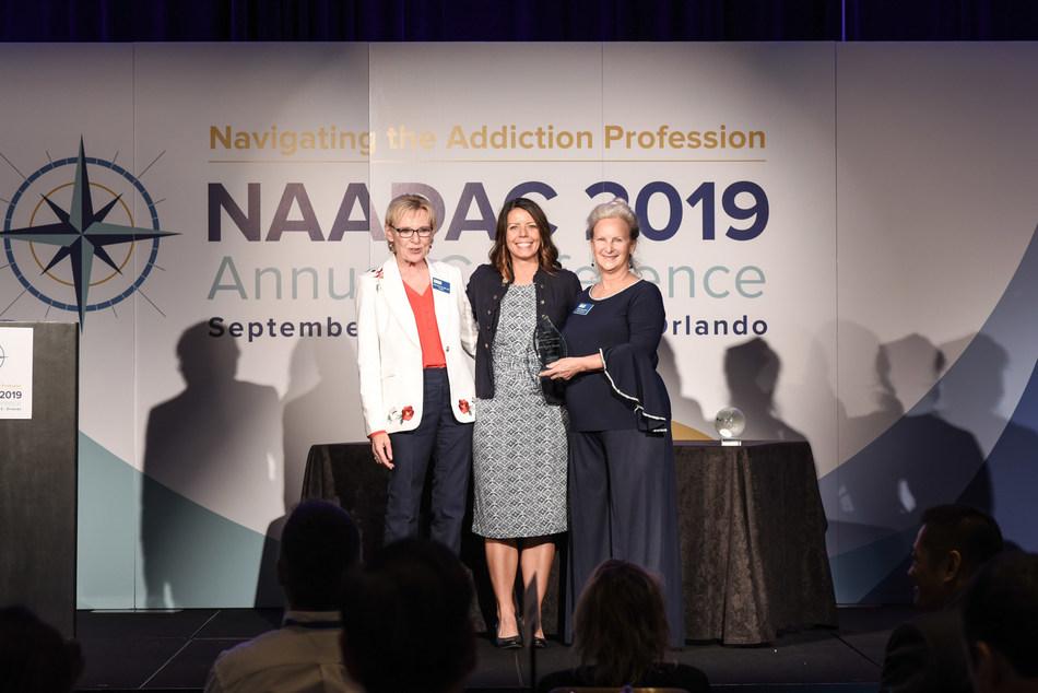 NUWAY Awarded the 2019 NAADAC Organizational Achievement Award