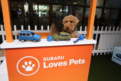 Subaru of America Expands Pet Adoptions to More Than 40 National Auto Shows Nationwide; As Part of the Subaru Loves Pets Initiative, Automaker is Dedicated to Help Pets Find Forever Homes.