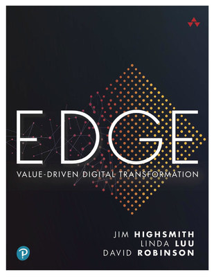 EDGE: Value-Driven Digital Transformation guides leaders through the breakthrough EDGE operating model designed to close the gap between a world of exponential opportunities and an organization's ability to quickly capture them.