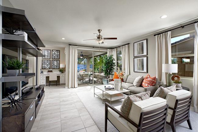 Sunstone plan great room