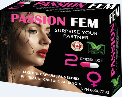Passion Fem 2 Capsules – Front (CNW Group/Health Canada)