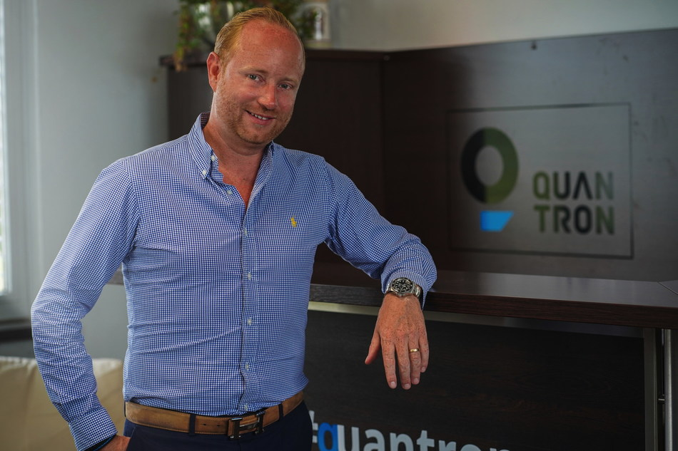 Andreas Haller, founder and CEO of Quantron AG. copyright: Quantron AG. (PRNewsfoto/Quantron AG)