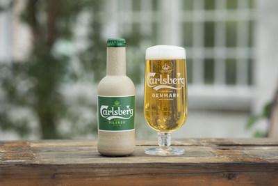 """嘉士伯向打造全球首个""""纸制""""啤酒瓶又迈进一步"""