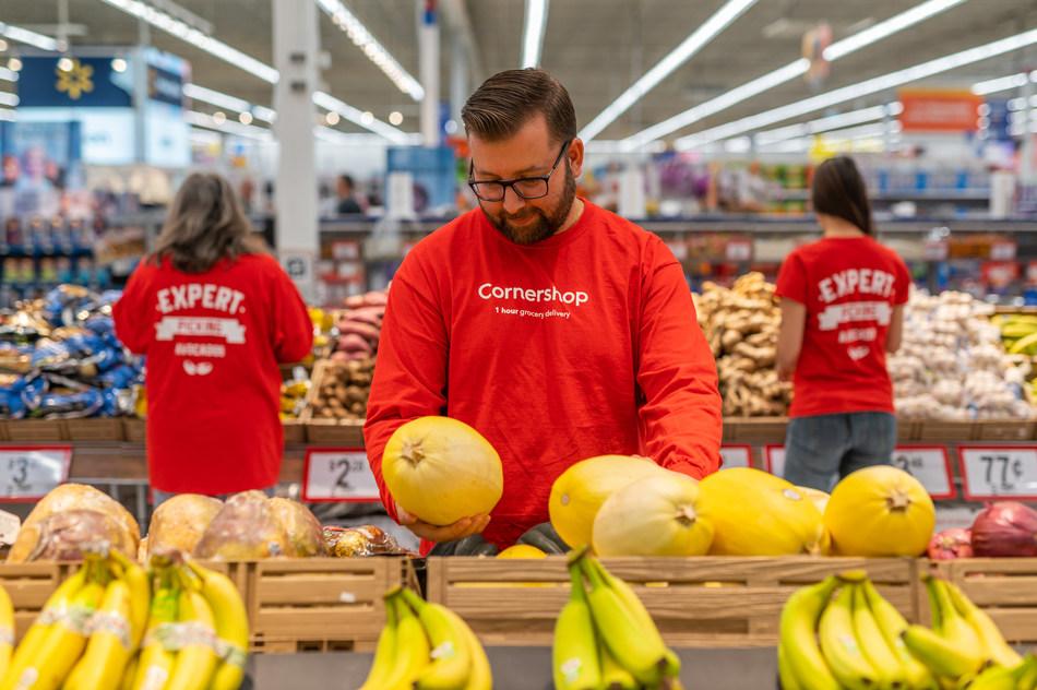 Walmart and Cornershop (CNW Group/Walmart Canada)