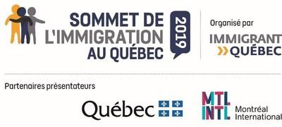Logo : Sommet de l'immigration au Québec (Groupe CNW/Immigrant Québec)
