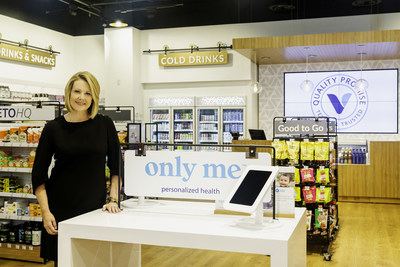 Sharon Leite, CEO of The Vitamin Shoppe, in the company's new innovation store in Edgewater, New Jersey.