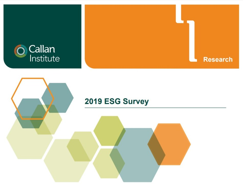 Callan's 7th Annual ESG Survey Shows Continued Commitment to Implementation