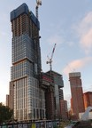 DAMAC's First Tower in the City of London Reaches Its Pinnacle