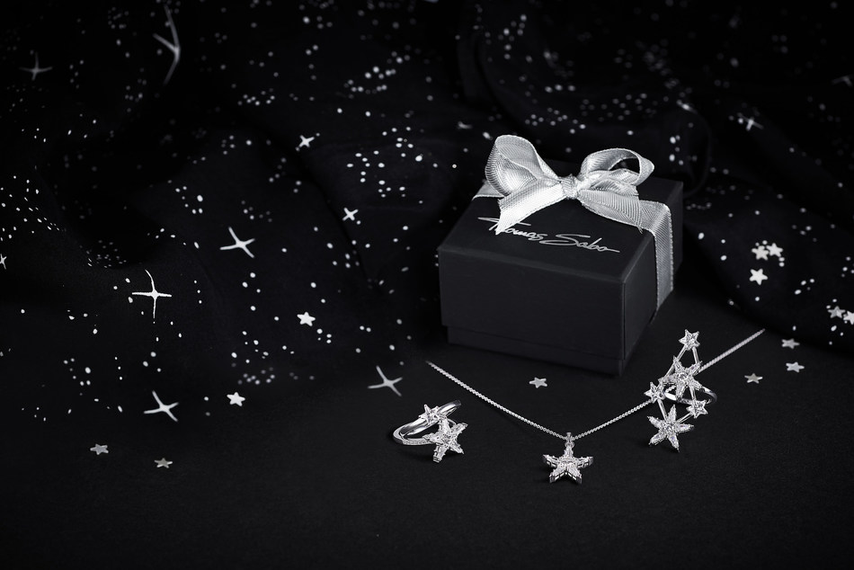 The Magic Stars designs by THOMAS SABO are a playful homage to constellations and their deep meaning. (PRNewsfoto/THOMAS SABO GmbH & Co.KG)