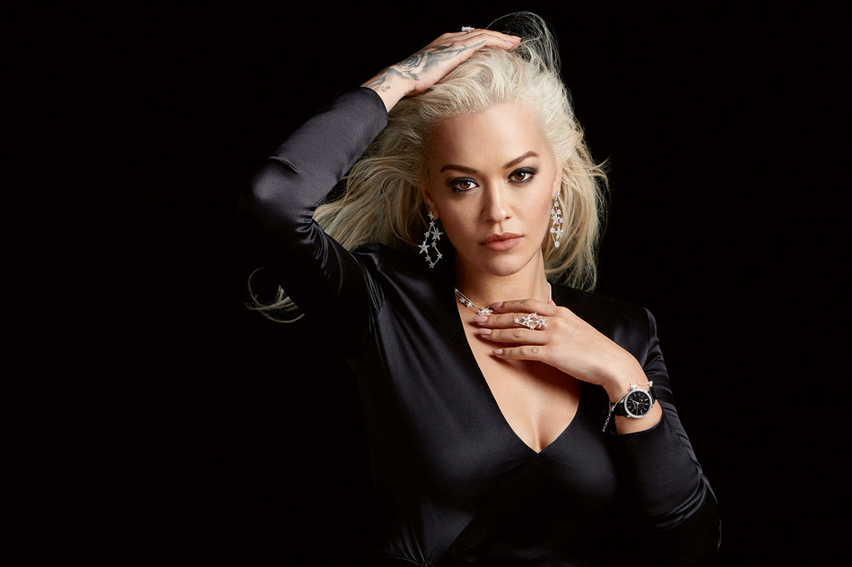 The Magic of Christmas: The global brand ambassador Rita Ora presents sparkling THOMAS SABO jewellery. Picture exclusively for editorial use until 31 January 2019. (PRNewsfoto/THOMAS SABO GmbH & Co.KG)