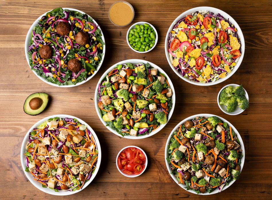 "Just Salad ""Health Tribes"" salads & bowls"