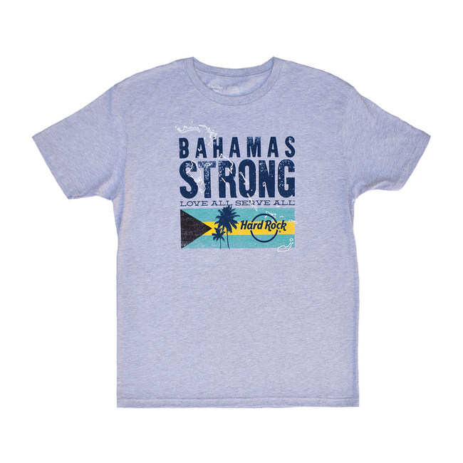 Hard Rock International Launches Bahamas Strong T-shirt To Benefit Hurricane Dorian Relief Efforts