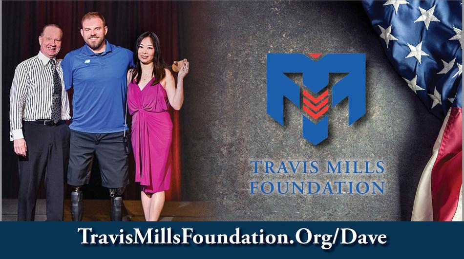 Take the Mortach Million Dollar Challenge at TravisMillsFoundation.Org/Dave