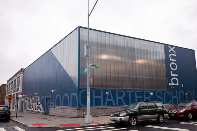 Civic Builders' incubation space is located at 411 Wales Avenue and will serve as the permanent home to Neighborhood Charter School: Bronx.