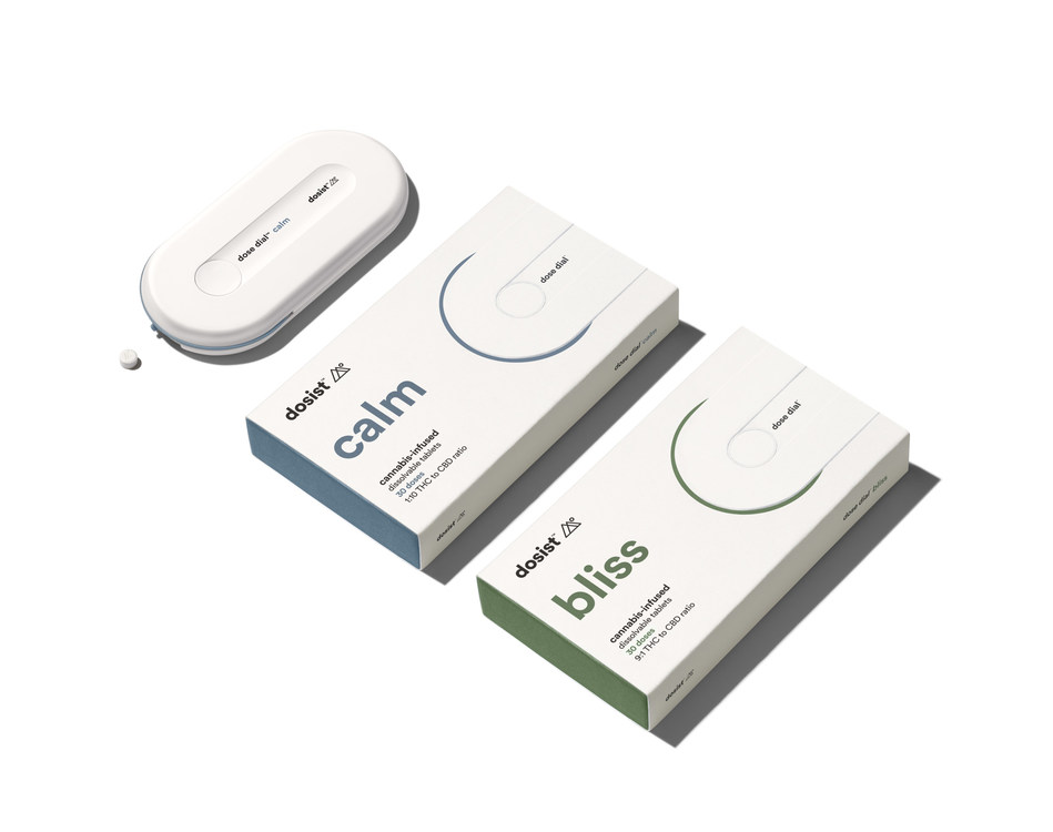 dosist™ introduces the dose dial, the latest innovation in dose-controlled cannabis