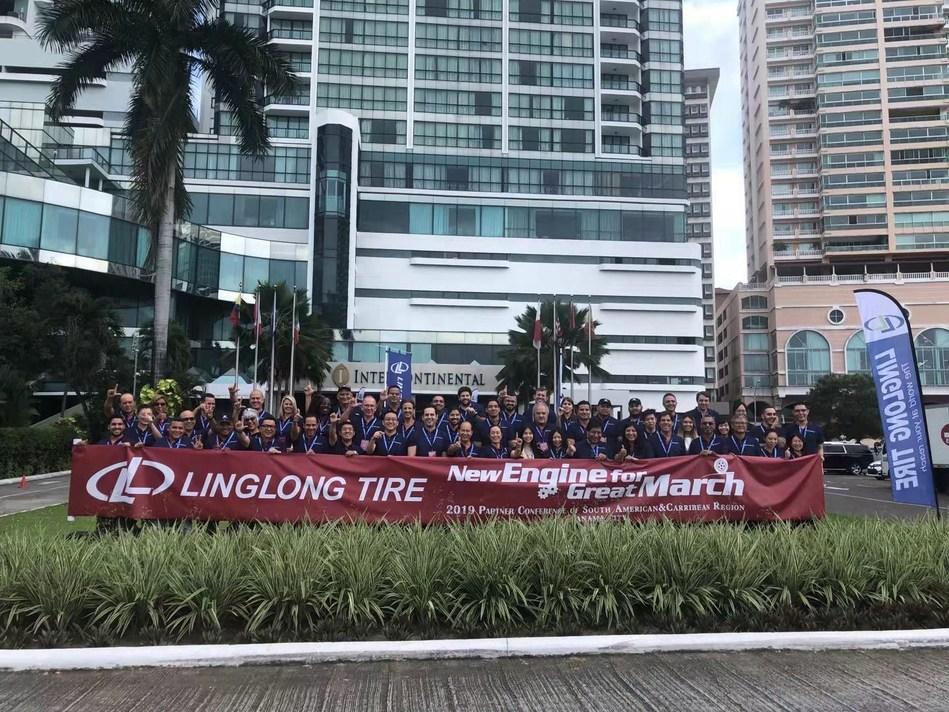 Conferência da Linglong Tire Partner para a Região Sul Americana e o Caribe 2019 realizada na Cidade Panamá (PRNewsfoto/Linglong Tire)