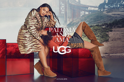 Autumn/Winter 2019 #UGGLIFE Global Campaign Launch featuring Paloma and Ama Elsesser