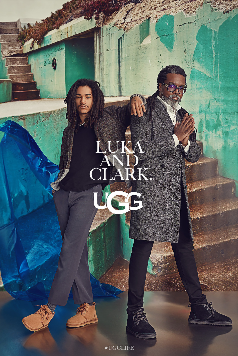 Autumn/Winter 2019 #UGGLIFE Global Campaign Launch featuring Luka and Clark Sabbat