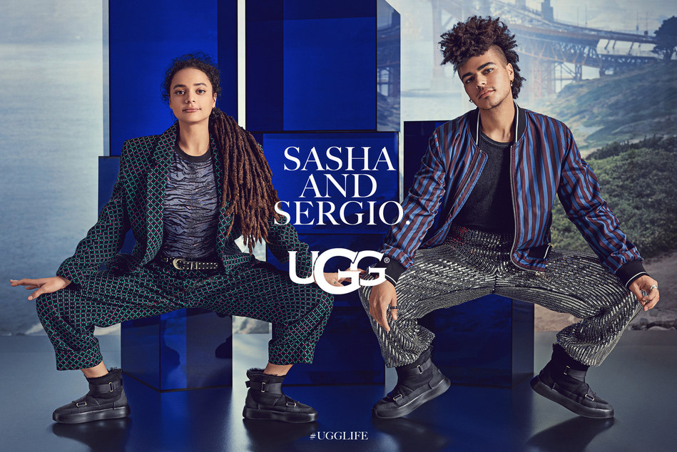 Autumn/Winter 2019 #UGGLIFE Global Campaign Launch featuring Sasha and Sergio Lane