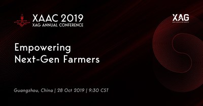 XAG Annual Conference XAAC 2019 Announced For 28 October, Empowering Next-Gen Farmers