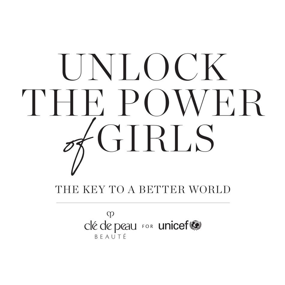 Clé de Peau Beauté anuncia su Asociación Global de varios años con UNICEF