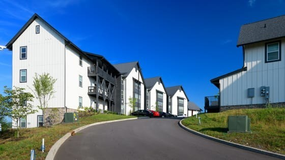 The Rivertop Apartments are now operating under new management by national multifamily management company Mission Rock Residential.