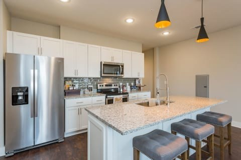 The 224 apartment units feature a mix of integrated technology solutions, well-suited to the increasing desires of renter's in the trendy Nashville market.