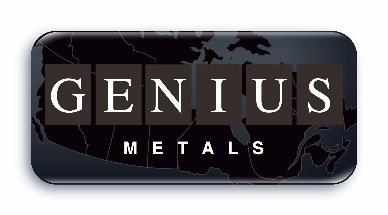 Logo: Genius Metals Inc. (CNW Group/Genius Metals Inc.)