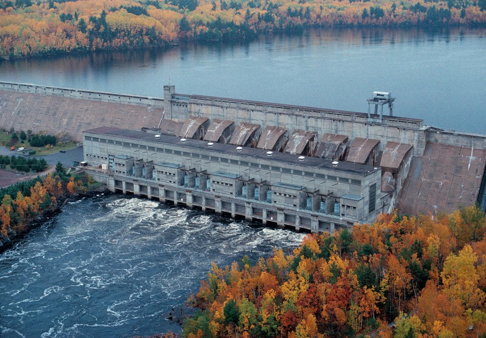 OPG's Des Joachims Generating Station Ottawa River (CNW Group/Ontario Power Generation Inc.)
