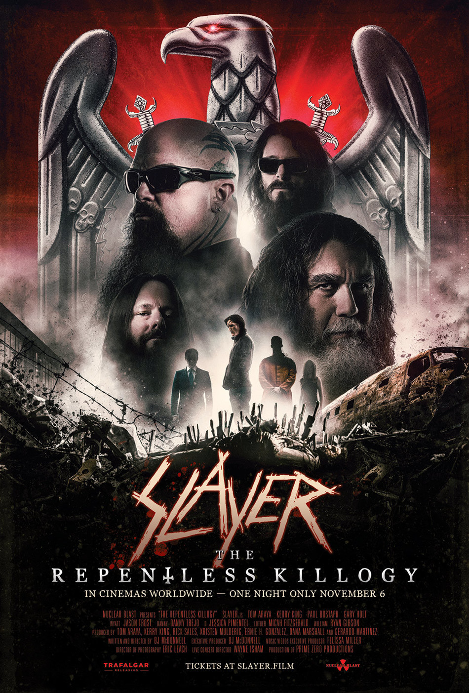 Slayer: The Repentless Killogy - Official Poster