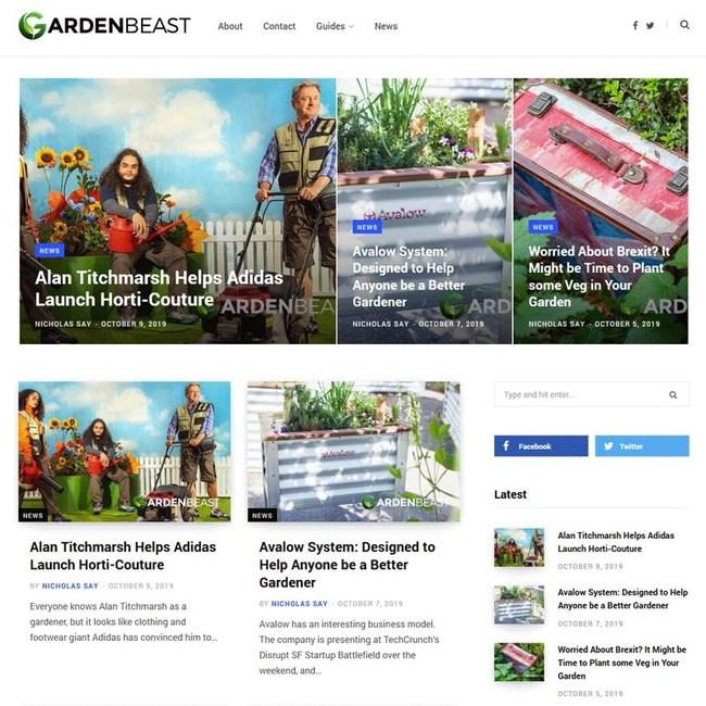 GardenBeast Website